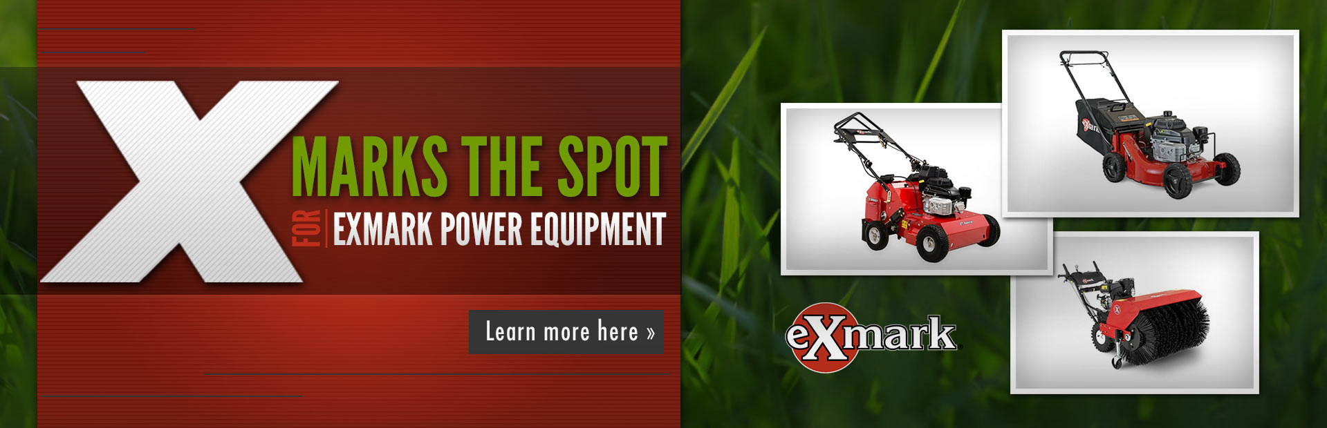 Exmark Power Equipment: Click here to view the lineup.