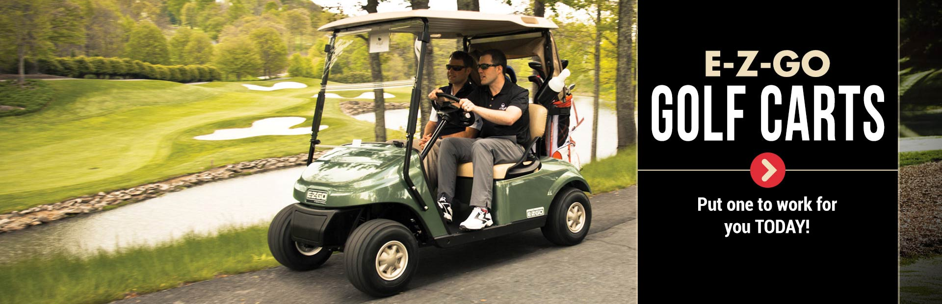 E-Z-GO Golf Carts: Click here to view our selection!