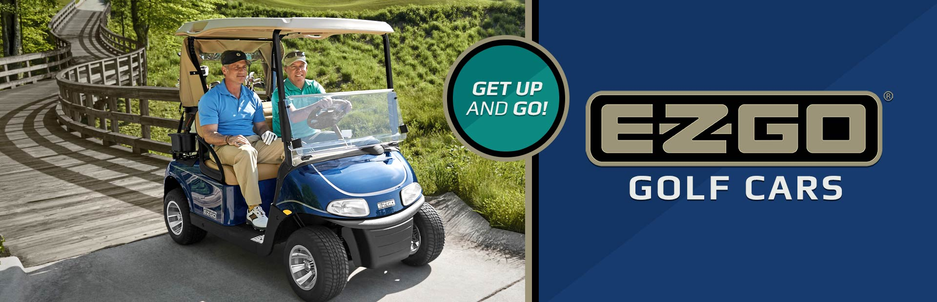 E-Z-GO Golf Cars: Click here to view the models.