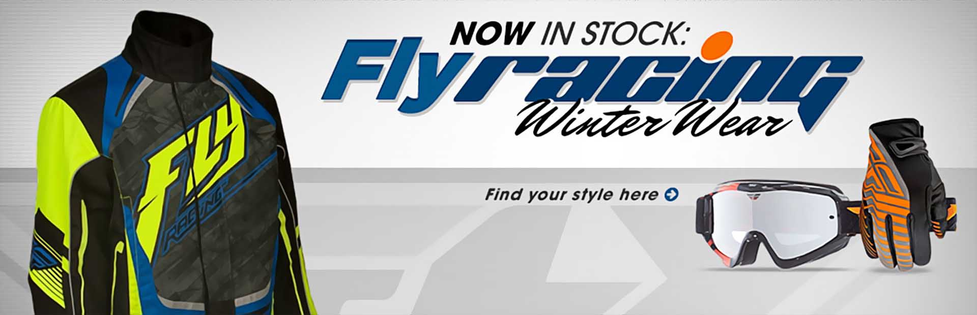 Fly Racing Winter Wear: Click here to shop online.