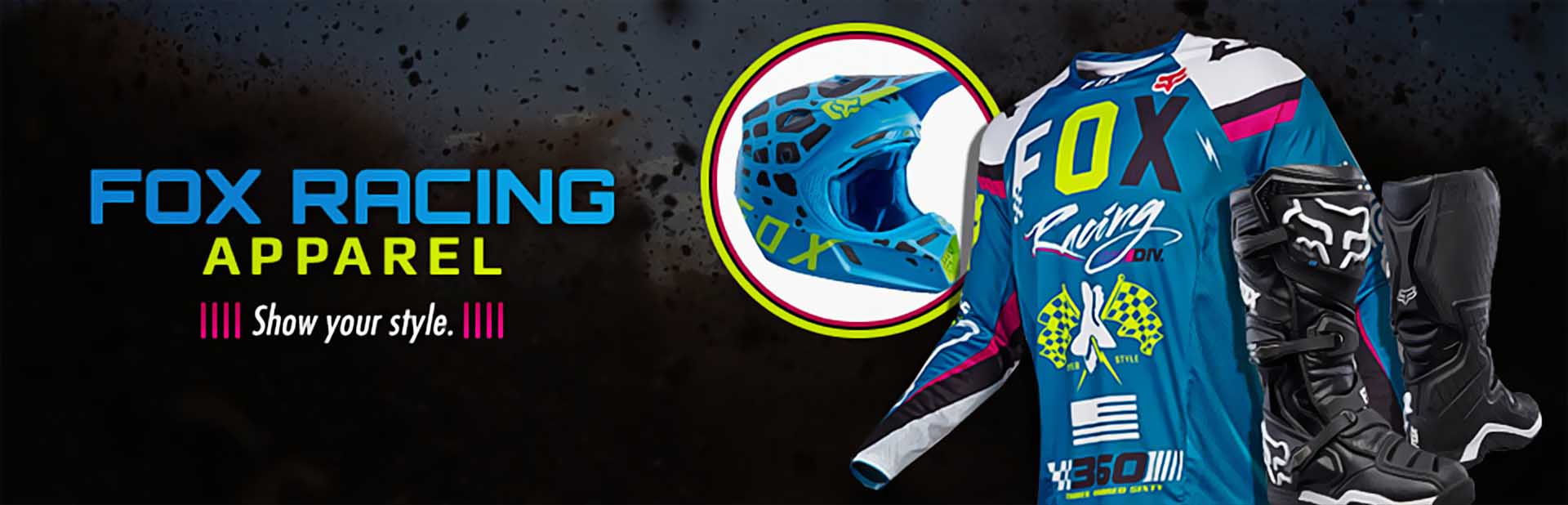 Fox Racing Apparel: Click here to shop online.