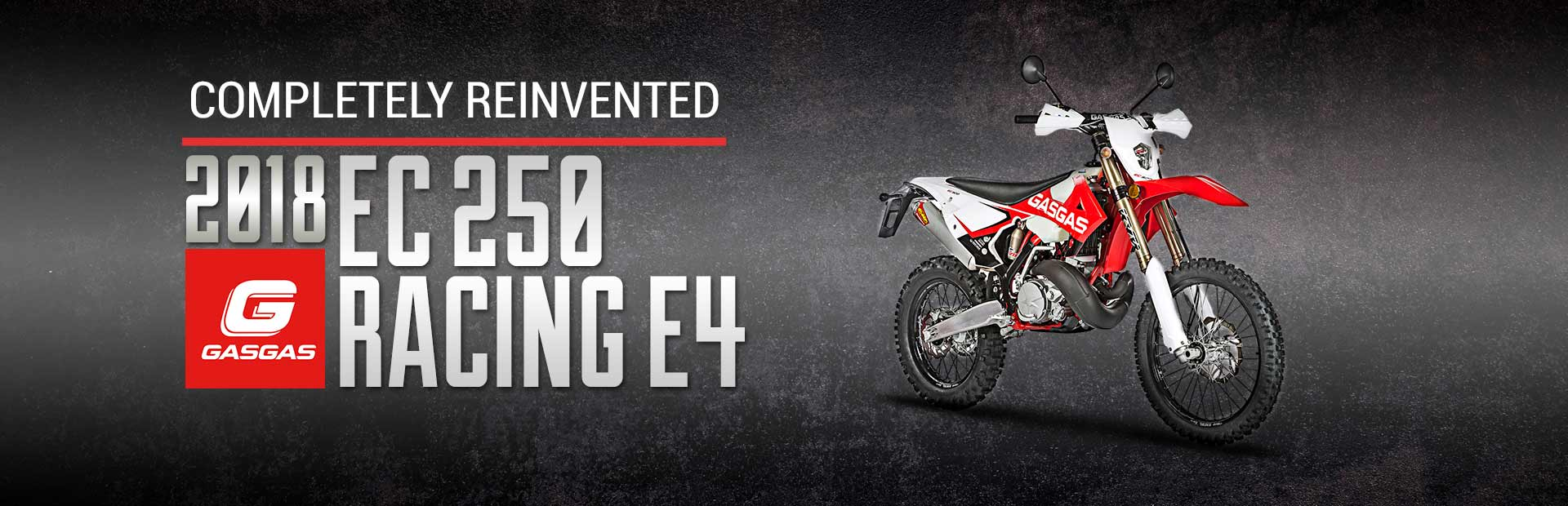 2018 GasGas EC 250 Racing E4: Click here to view the model.