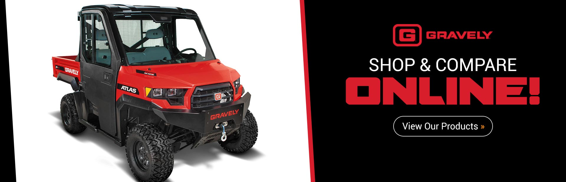 Gravely Equipment: Click here to view our products.