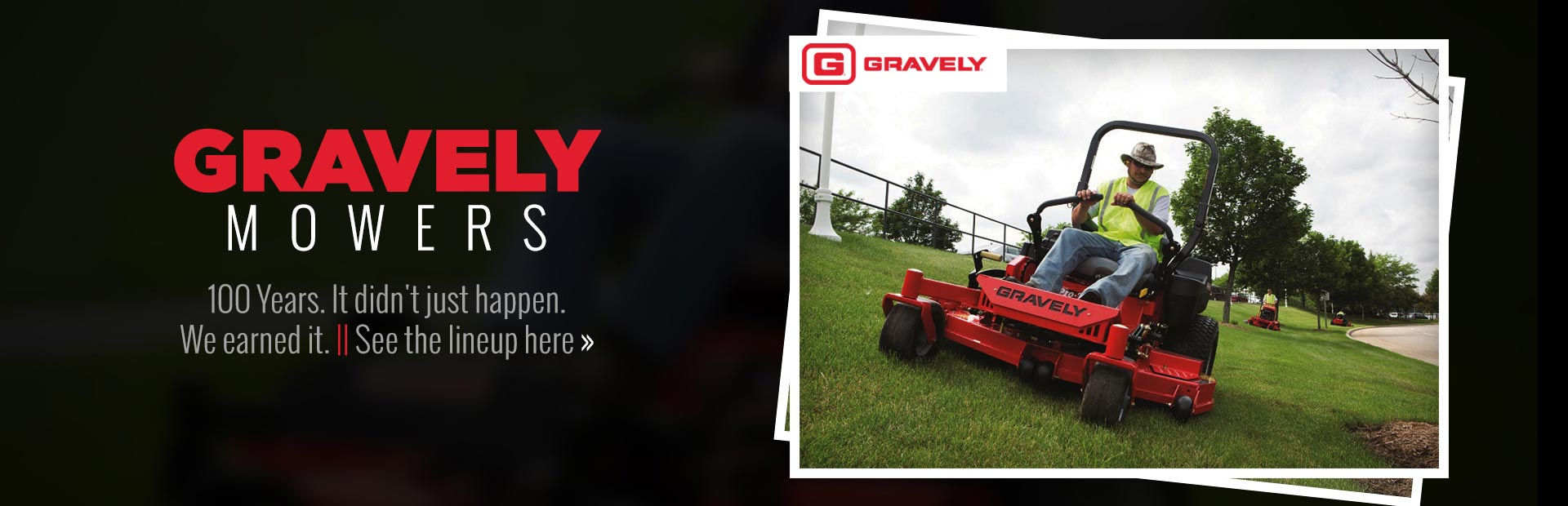 Gravely Mowers: Click here to view our selection