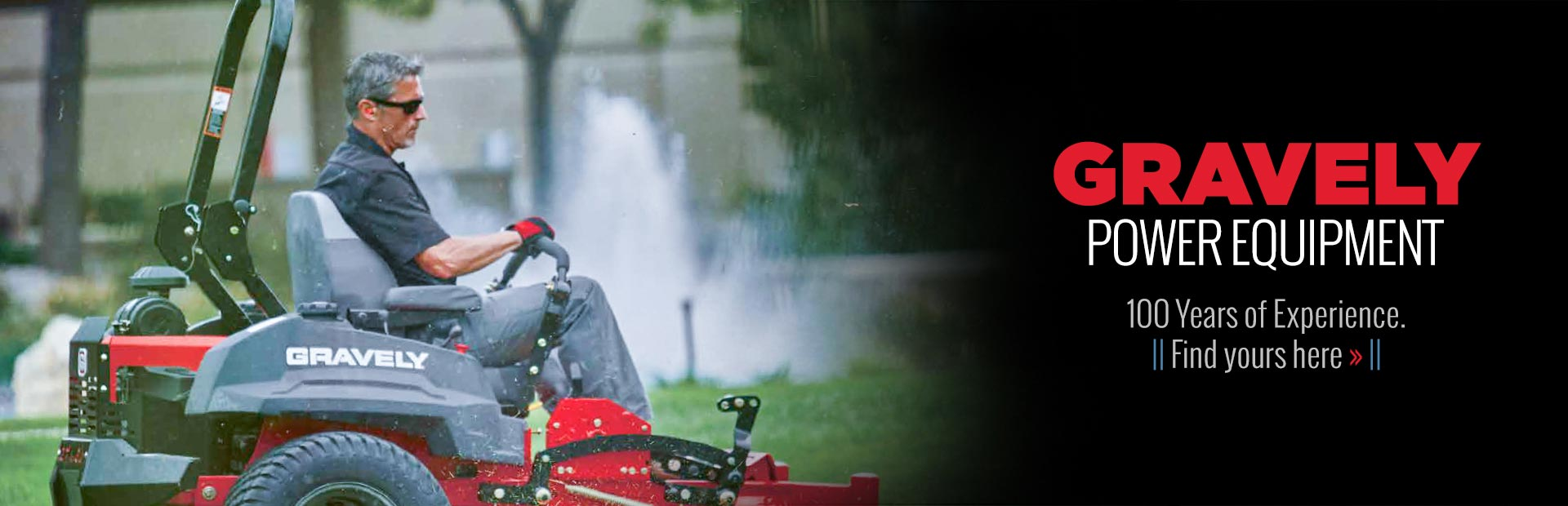 Gravely Power Equipment: 100 Years of Experience