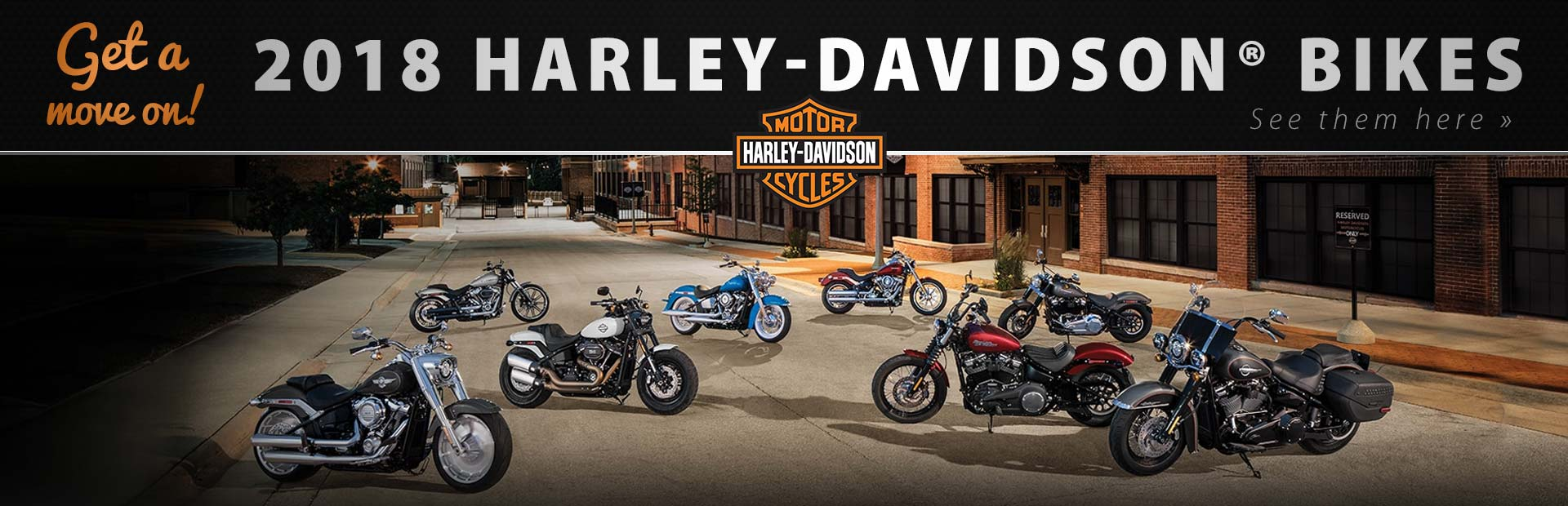2018 Harley-Davidson® Bikes: Click here to view the models.