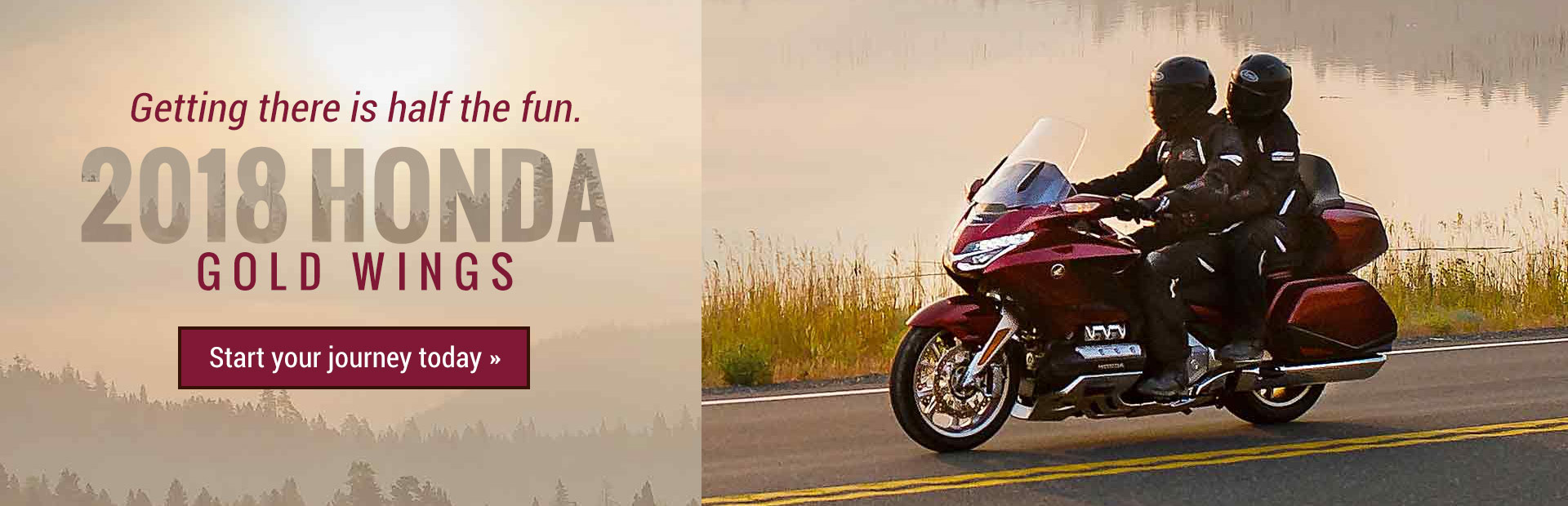 2018 Honda Gold Wings: Click here to view the models.