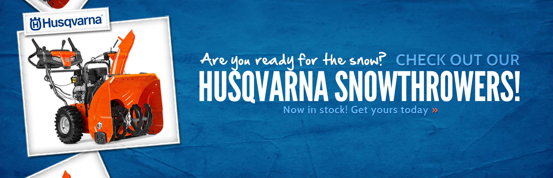 Click here to view Husqvarna snowthrowers.