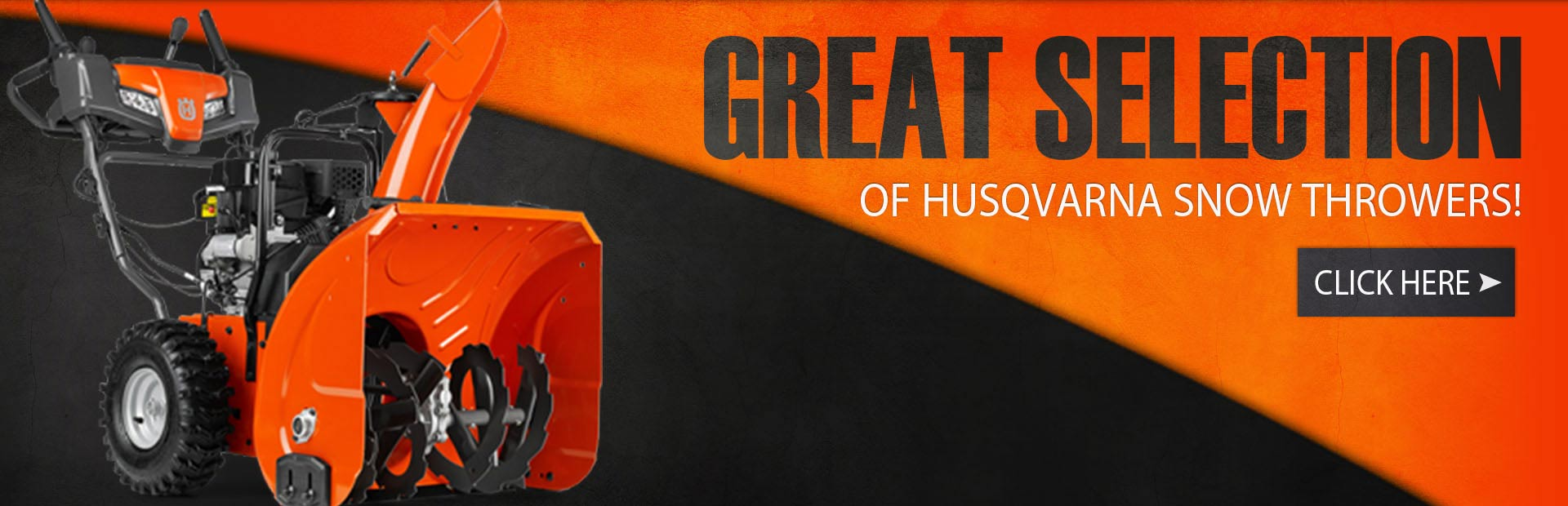 Click here to browse our great selection of Husqvarna snow throwers.