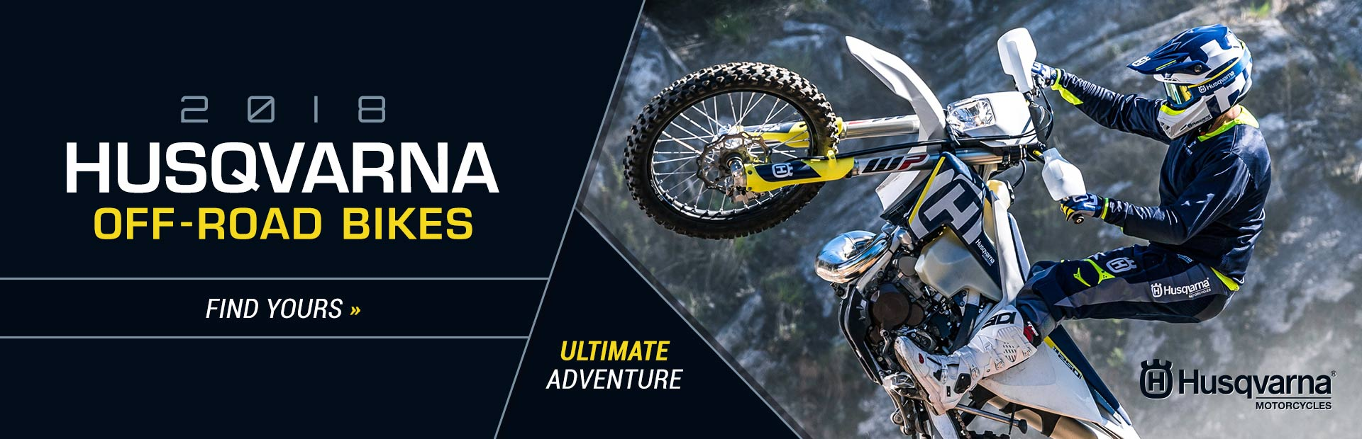 2018 Husqvarna Off-Road Bikes: Click here to view the lineup.