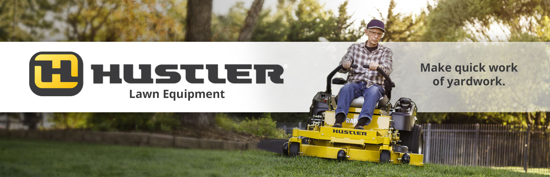 Hustler Lawn Mowers: Click here to view the models.