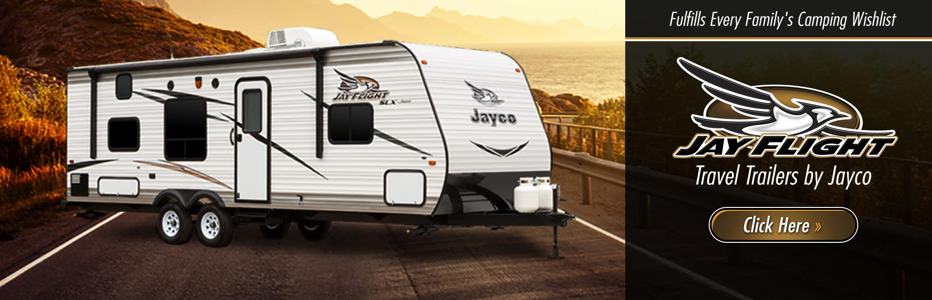 Jay Flight Travel Trailers by Jayco: Click here to view the models.