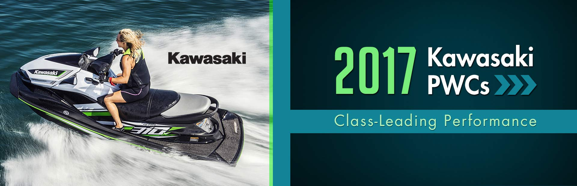 2017 Kawasaki PWCs: Click here to view the models.