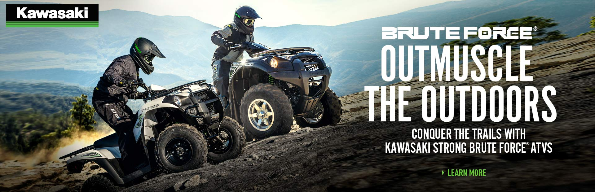 2018 Kawasaki Brute Force For Co-Op