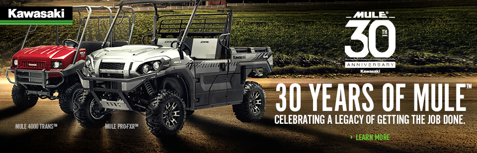2018 Kawasaki Mule 30th Anniversary - For Co-Op