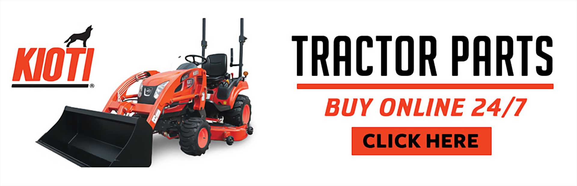 KIOTI Tractor Parts: Click here to buy online.