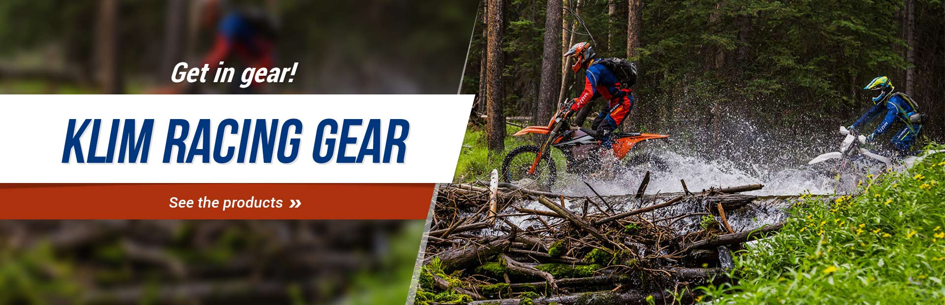 KLIM Racing Gear: Click here to browse.