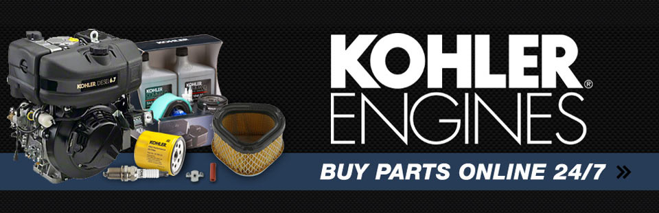 Kohler Engines: Click here to buy parts online.