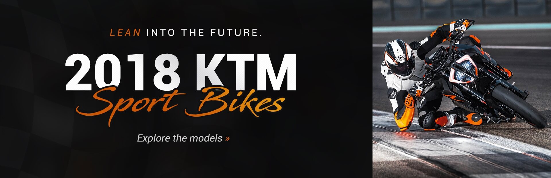 2018 KTM Sport Bikes: Click here to view the models.