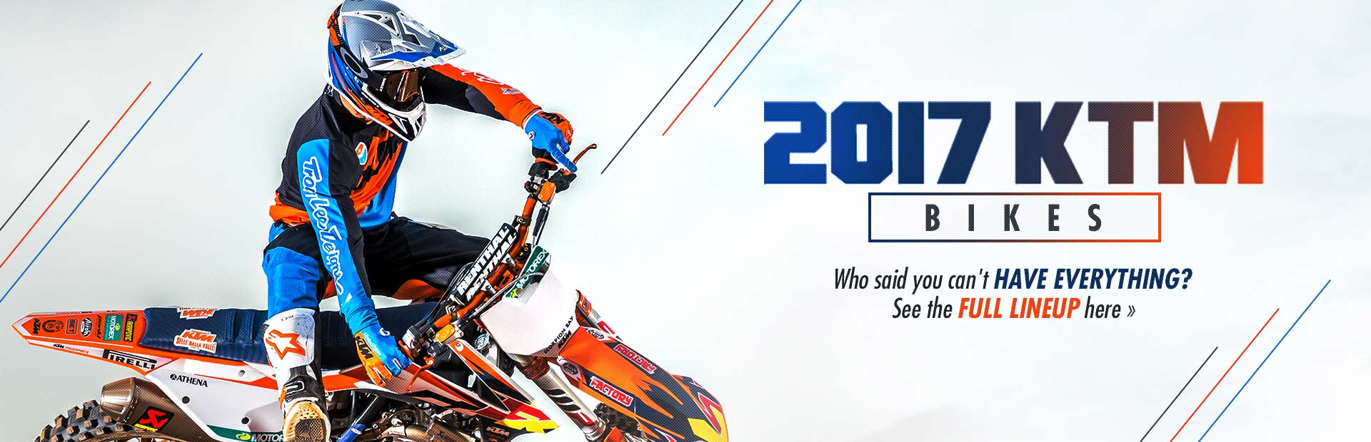 2017 KTM Bikes: Click here to view the models.
