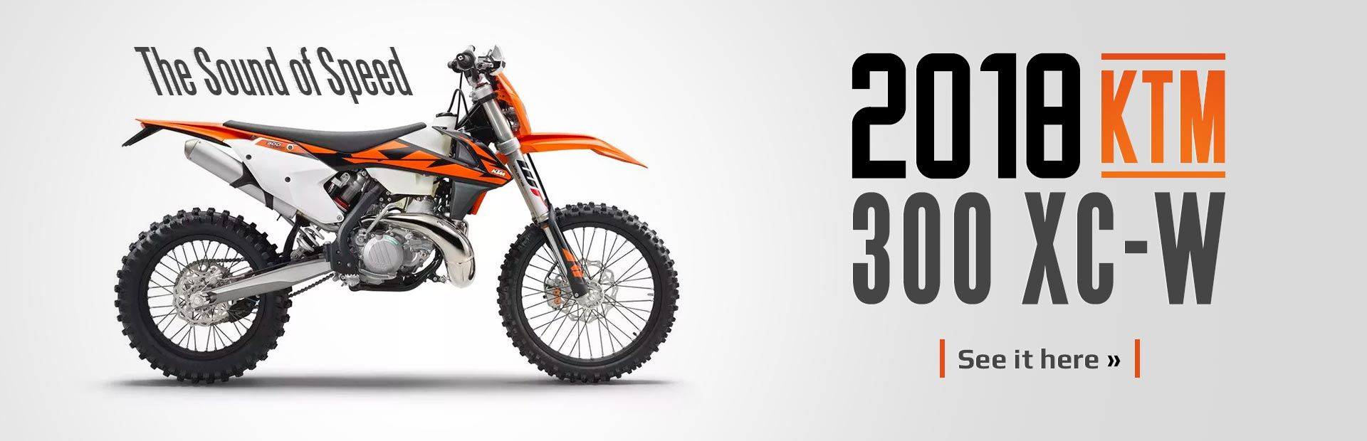 The 2018 KTM 300 XC-W: Click here for details!