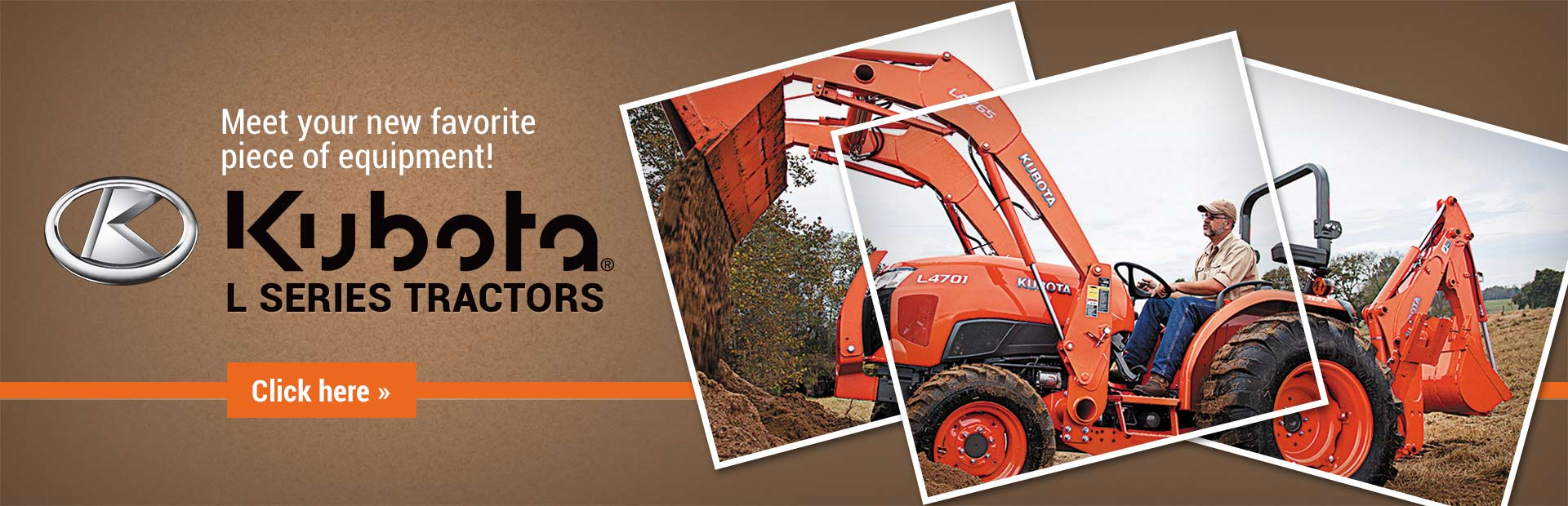 Click here to view our selection of Kubota L series tractors!