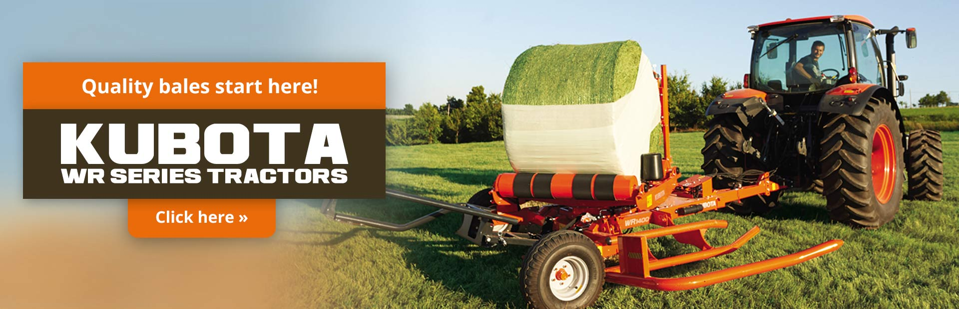 Click here to view our selection of Kubota WR series tractors!