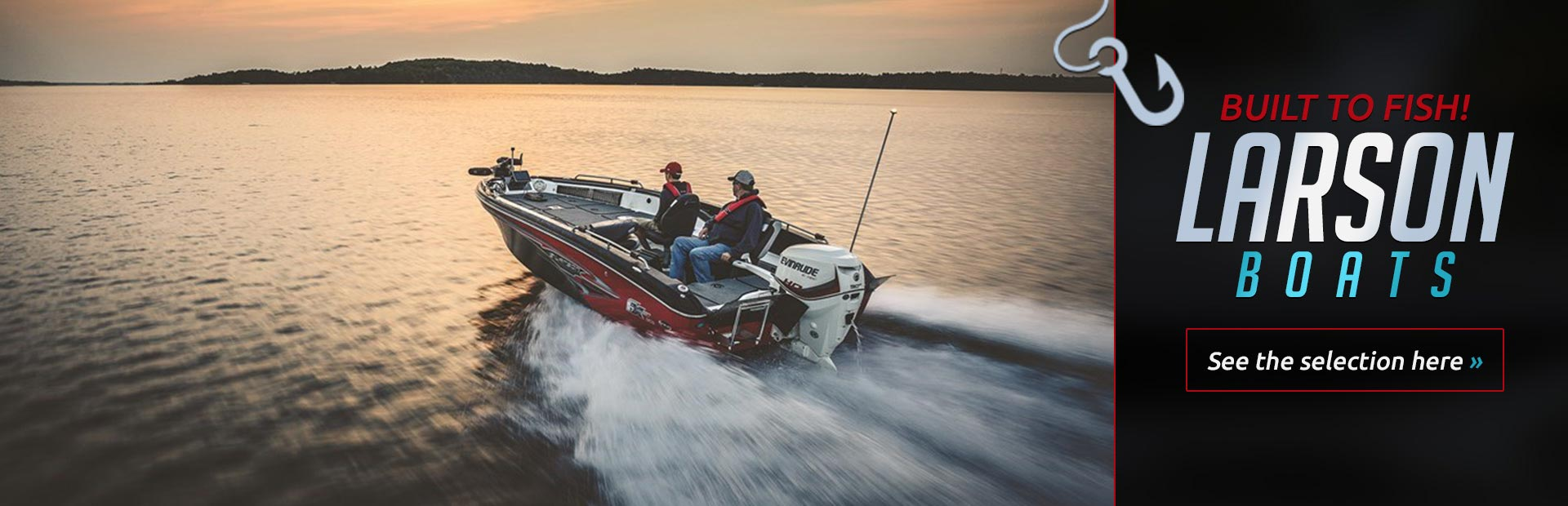 Larson Boats: Click here to see our selection!
