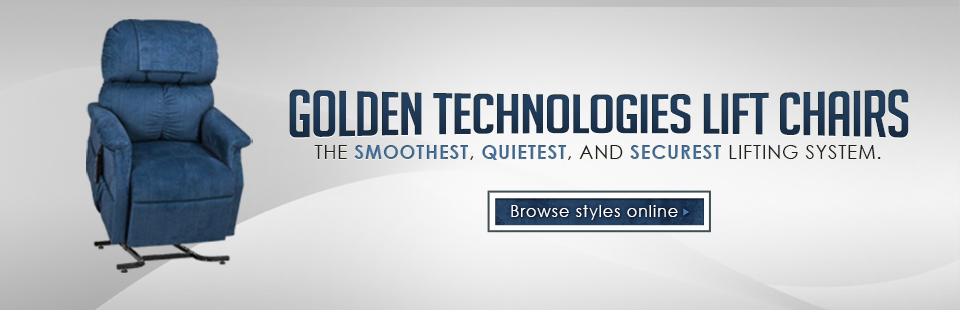 Click here to view Golden Technologies lift chairs.