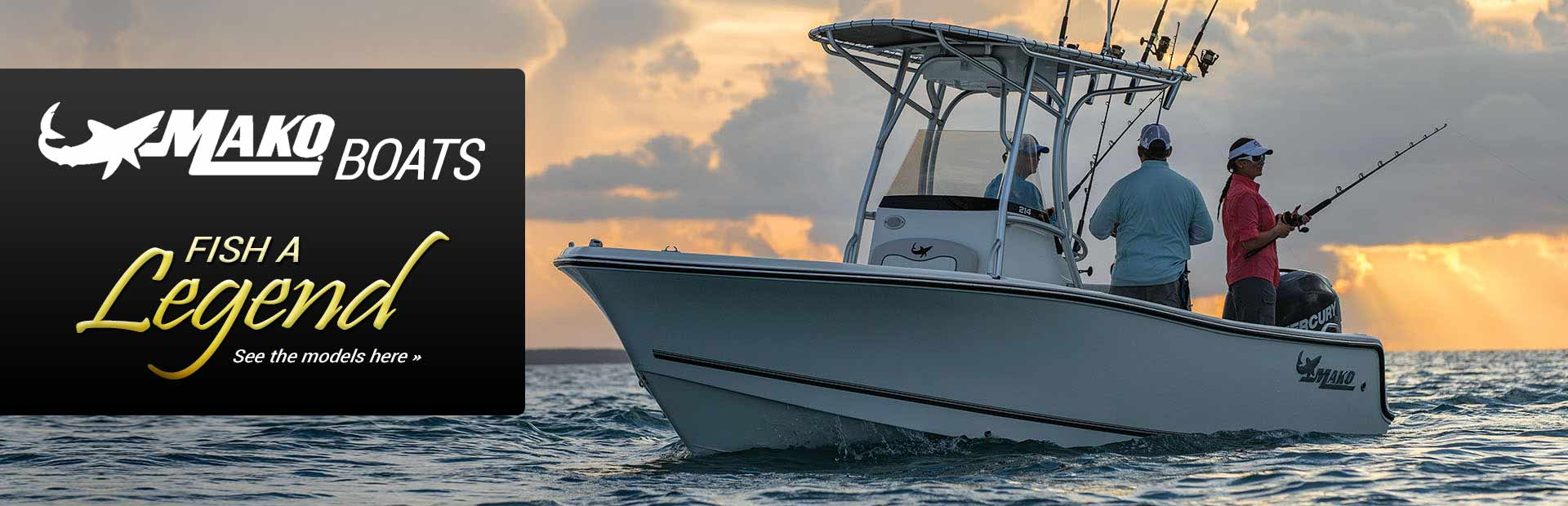 MAKO Boats: Click here to view the models.