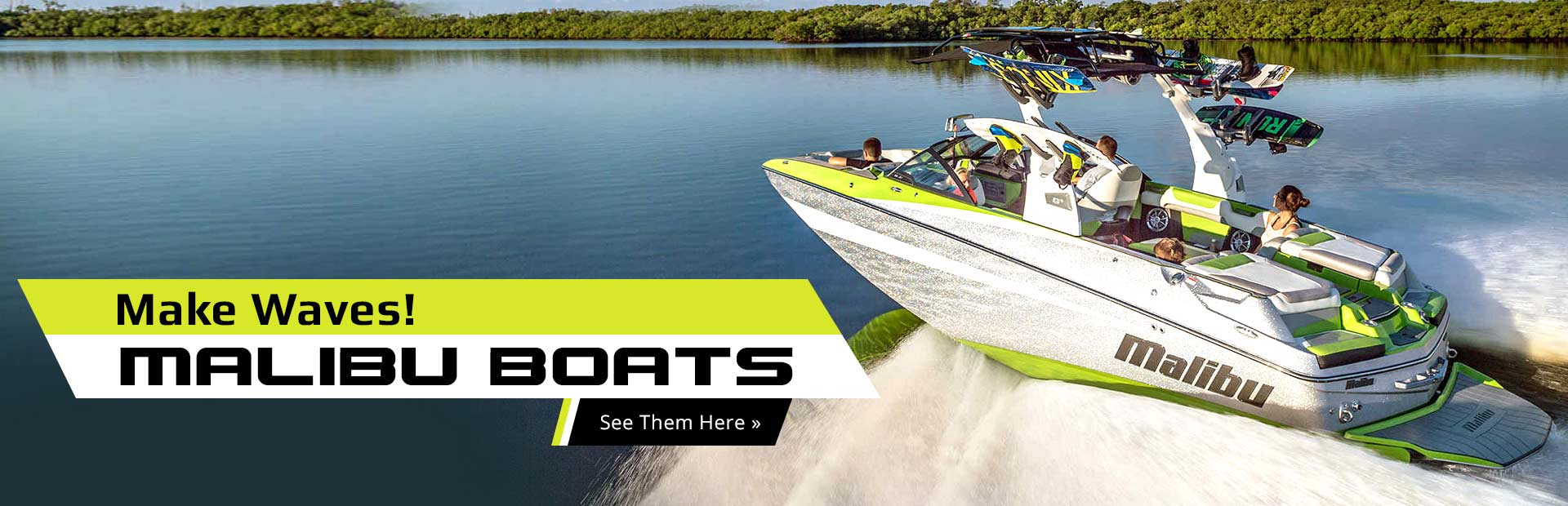 Click here to view our selection of Malibu boats!