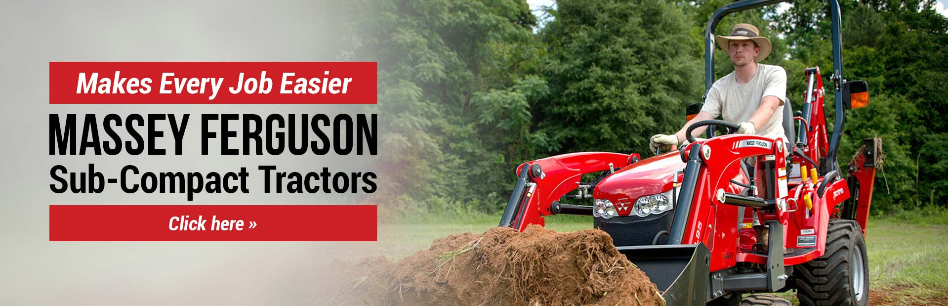 Massey Ferguson & Ferris dealer Sosler's Garden & Farm