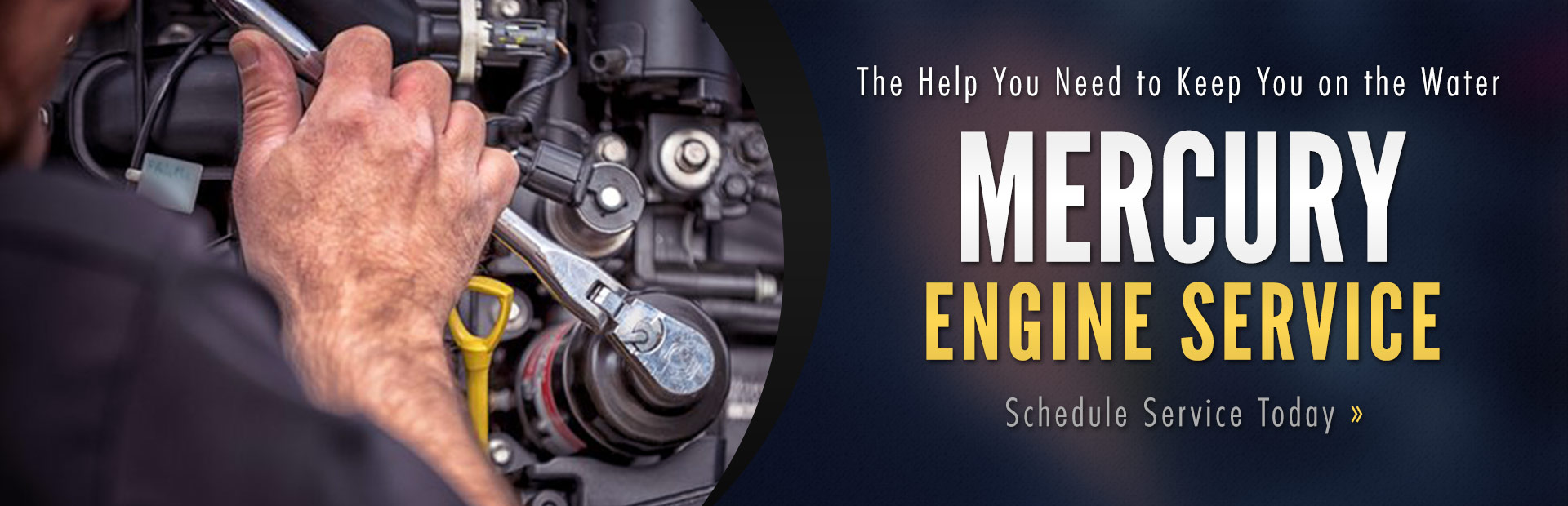 Mercury Engine Service: Click here to schedule service today.