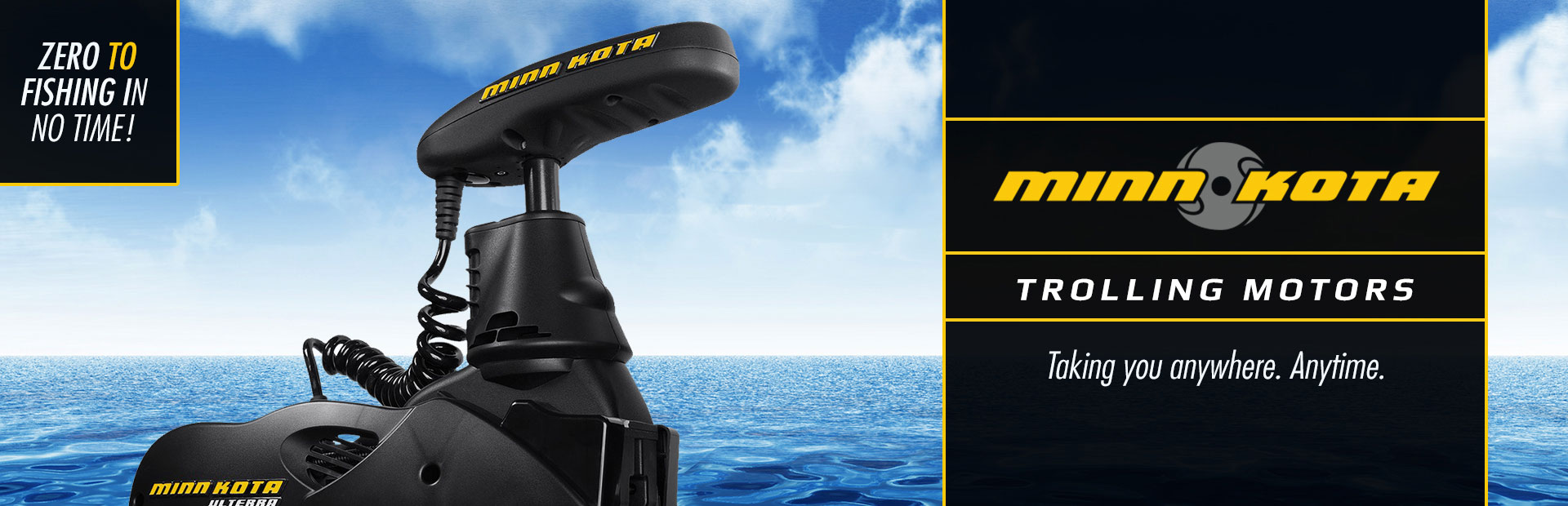 We carry Minn Kota trolling motors. Contact us for details.