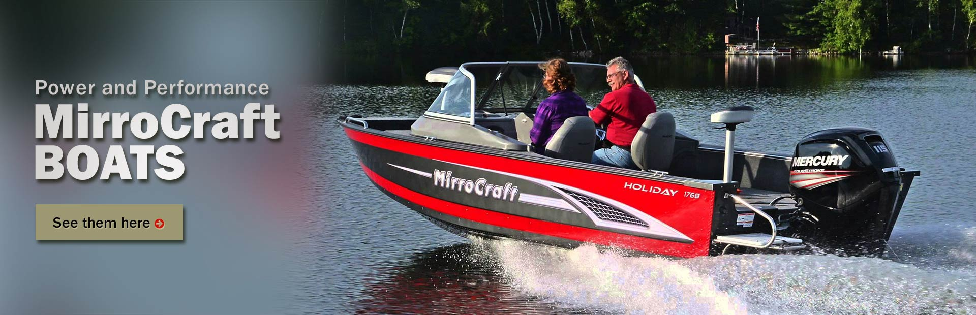 MirroCraft Boats: Click here to view the lineup.