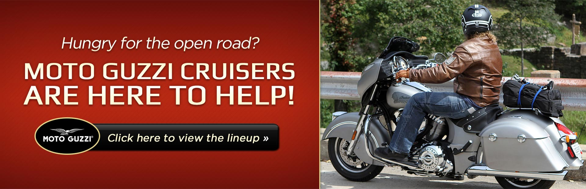 Click here to view Moto Guzzi cruisers.