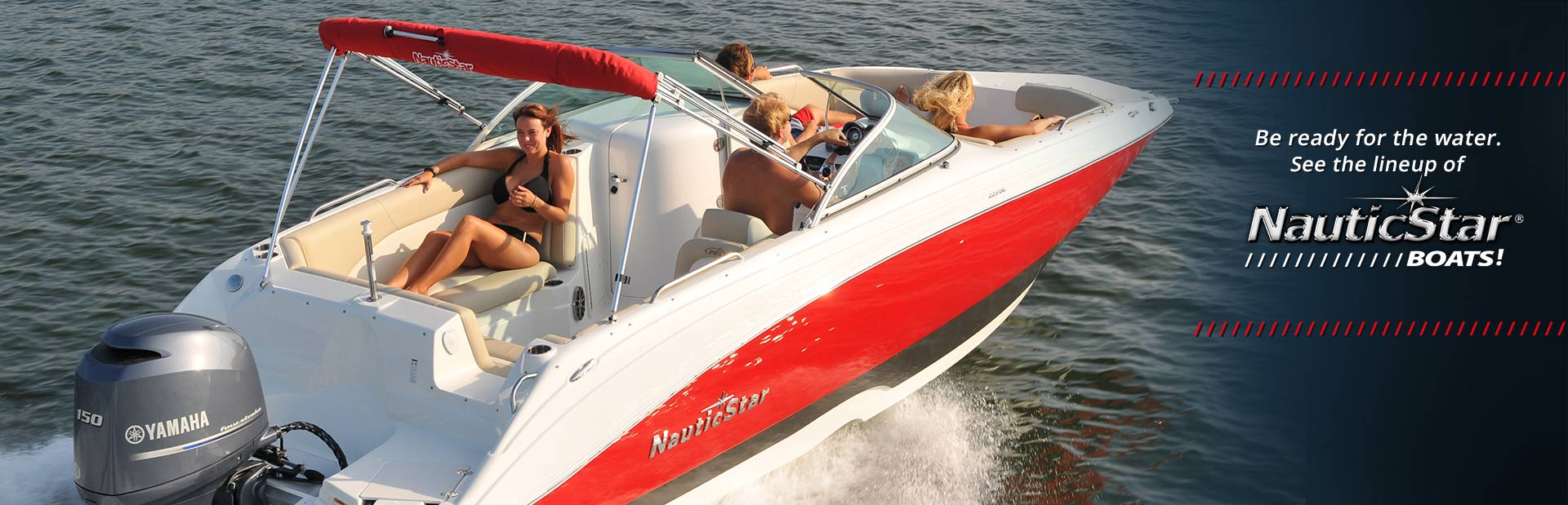 NauticStar Boats: Click here to view the models.