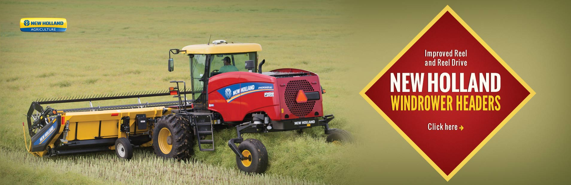 Click here to view our selection of New Holland windrower headers!