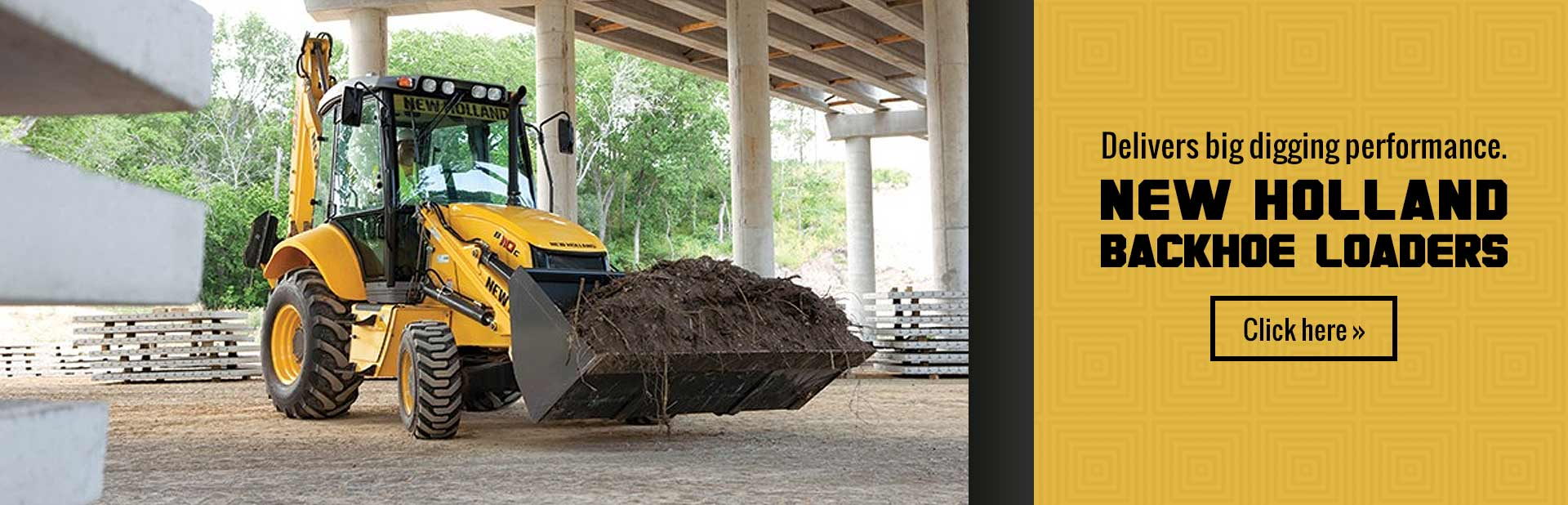 Click here to view our selection of New Holland backhoe loaders!