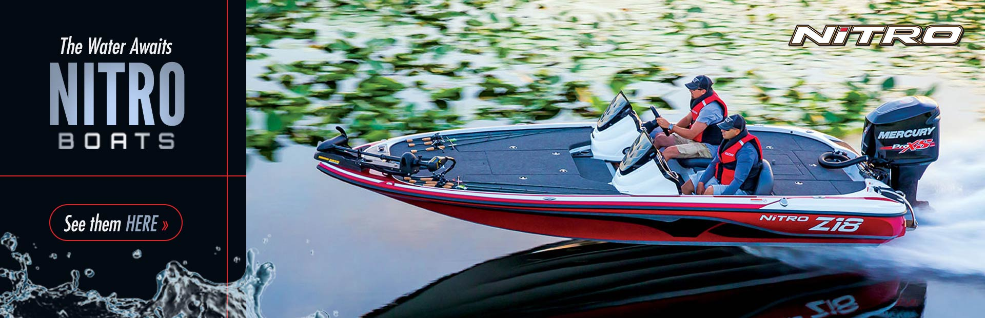 NITRO® Boats: Click here to view our selection.
