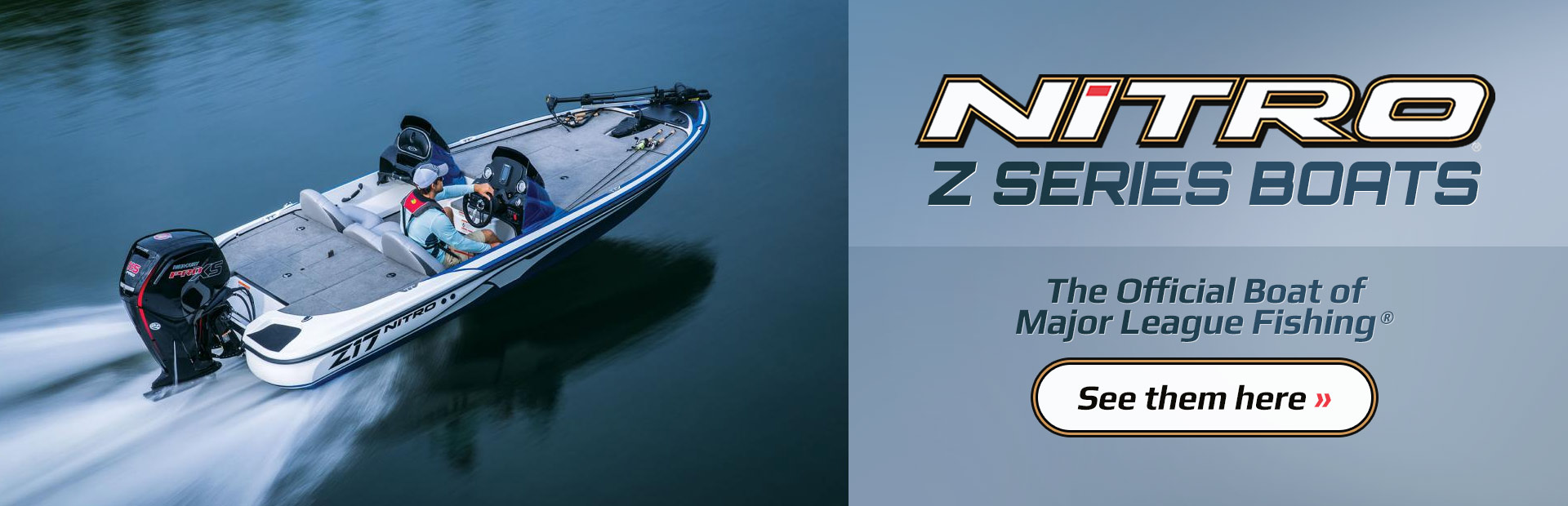 Nitro Z Series Boats: Click here to view the models.
