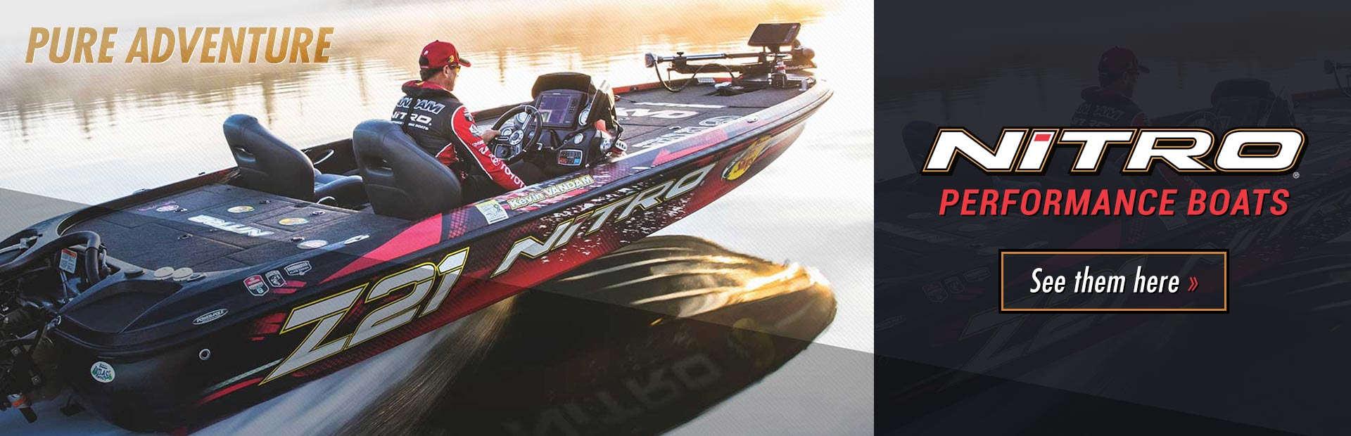 NITRO® Performance Boats: Click here to view the models.