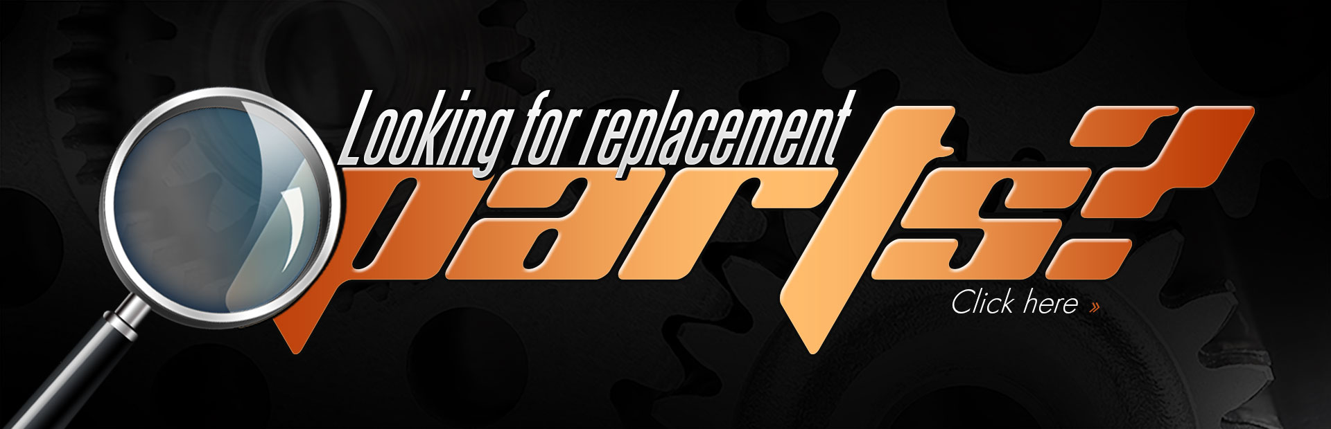 Looking for replacement parts? Click here!