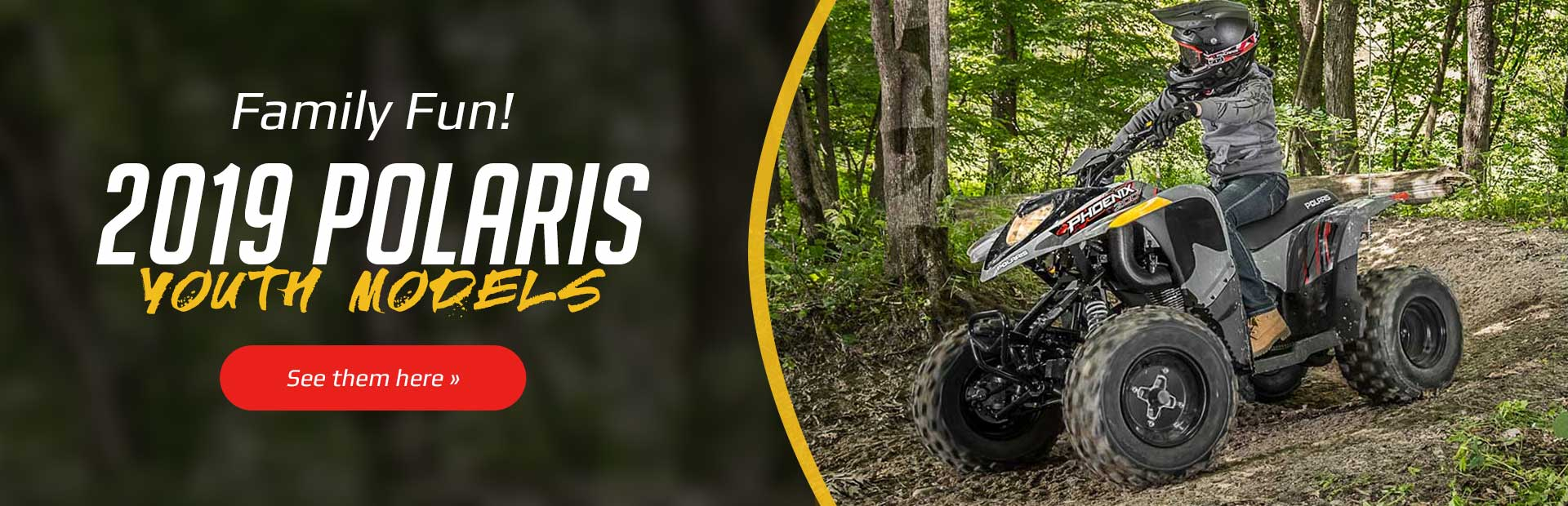 2019 Polaris Youth Models: Click here to view the models.