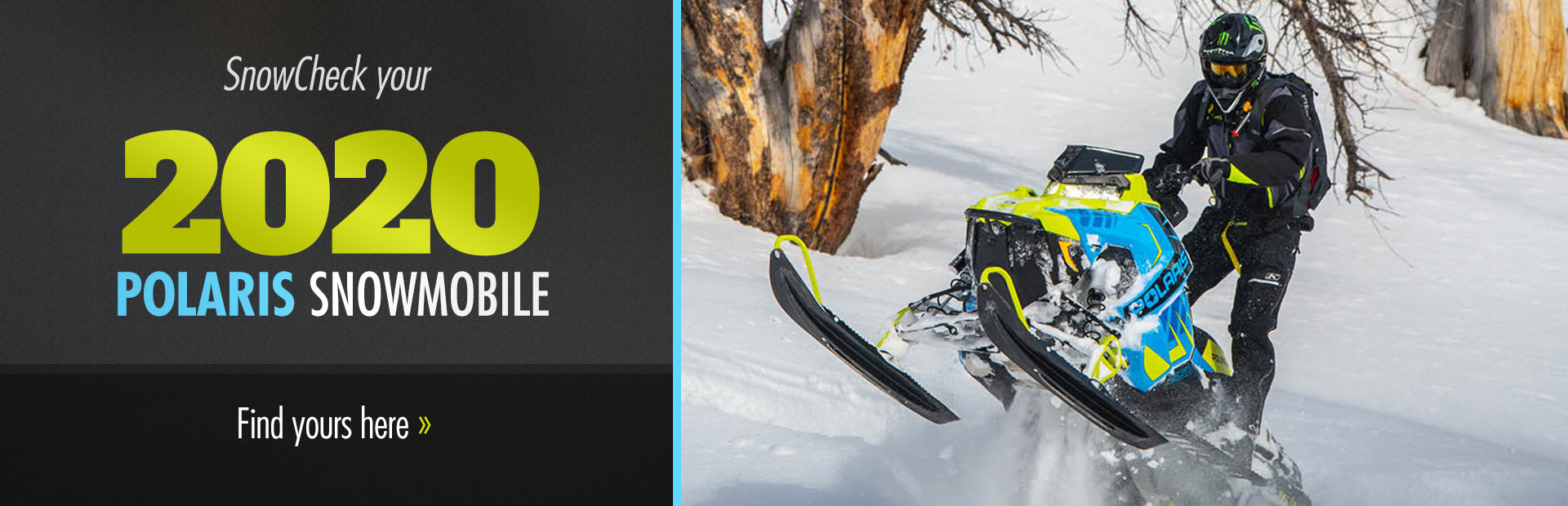 SnowCheck your 2020 Polaris Snowmobile: Find yours here!