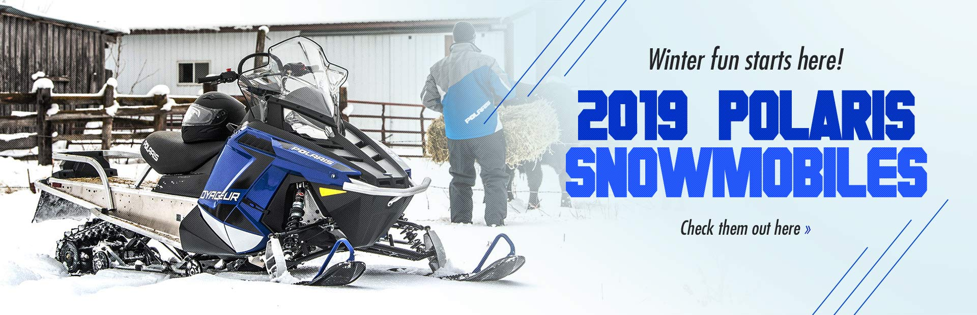 2019 Polaris Snowmobiles: Click here to view the models.
