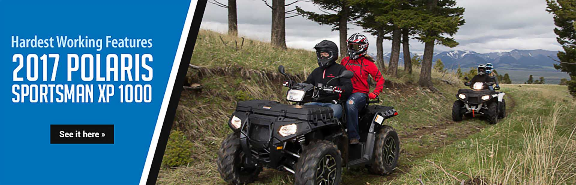 2017 Polaris Sportsman XP 1000: Click here to view the model.