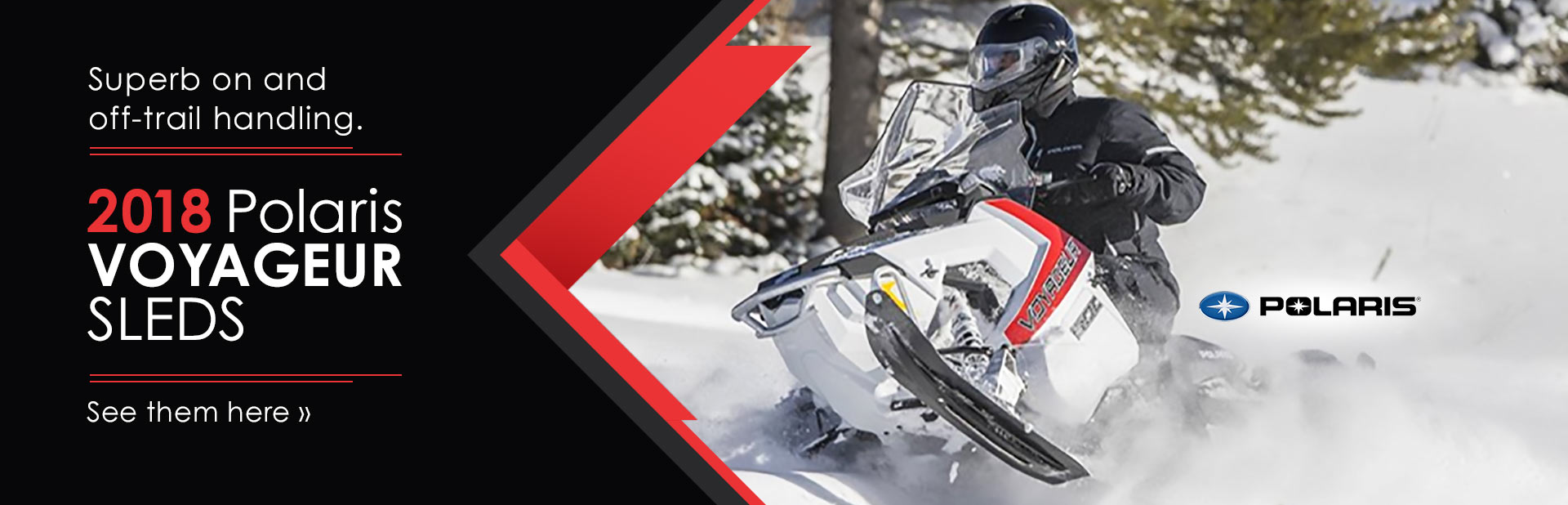 2018 Polaris Voyageur Sleds: Click here to view the models.