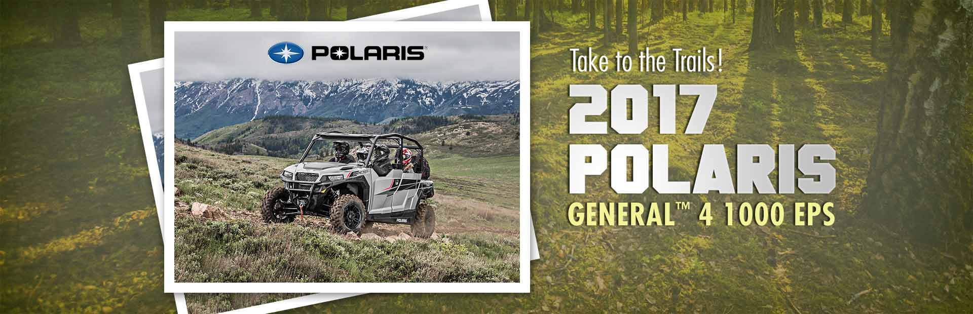 2017 Polaris GENERAL™ 4 1000 EPS: Click here for details.