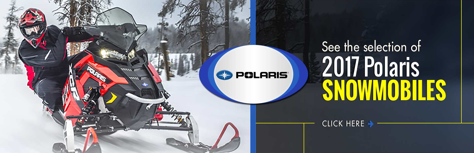 2017 Polaris Snowmobiles: Click here to see our selection!